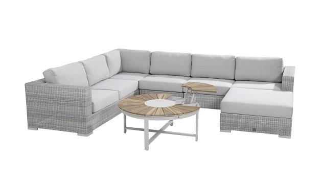 4 seasons outdoor loungeset multifunctioneel